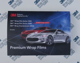 A5 Sample Map 3M Wrap Film serie 1080/1380 en 8900