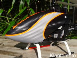 3D Carbon Folie Ultimate Zilver, 700cm x 152cm