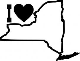New York State Motief 4 sticker