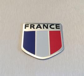 Frankrijk  Embleem Metaal ( Schild )