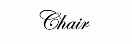 Chair Sticker