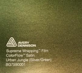 Avery SWF Wrap ColorFlow Satin Urban Jungle ( Silver/Green)