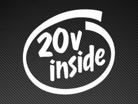 20V Inside sticker