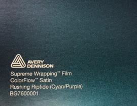Avery SWF Wrap ColorFlow Satin Rushing Riptide ( Cyan/Purple)