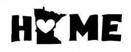 Minnesota Home sticker