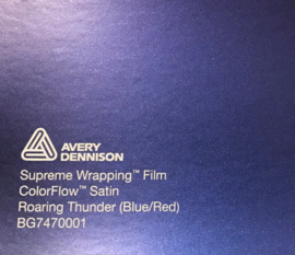 Avery SWF Wrap ColorFlow Satin Roaring Thunder ( Blue/Red)