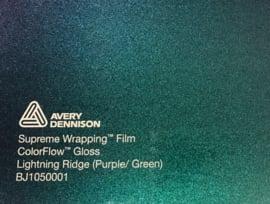 Avery SWF Wrap ColorFlow Glans Lightning Ridge ( Purple/Green)
