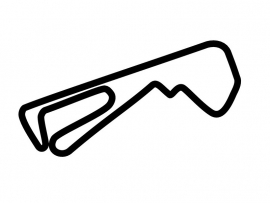 Autodromo dell Umbria Circuit Sticker