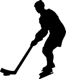 IJshockey Sticker