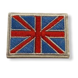 Great Britain Vlag Badge Strijk Patch |  4,5 x 3,5 cm