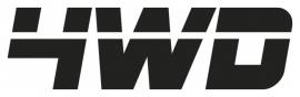 4WD Motief 2 sticker