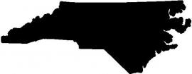 North Carolina State sticker