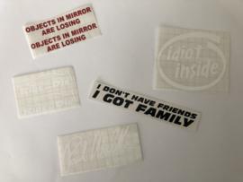 Sticker Set 5st. | Set 3