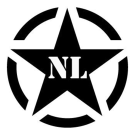 Army Ster NL Sticker Motief 14