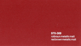 Oracal 970RA  369  Wrap Folie  Mat Rood Bruin Metallic
