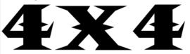 4x4 Motief 10 Sticker
