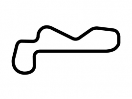 Las Vegas Motor Speedway Road Course Circuit Sticker