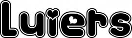 Luiers Motief 2 Sticker