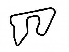 Las Vegas Motor Speedway Exotics Circuit Sticker