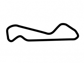 Arizona Motorsports Park East Track Circuit Sticker