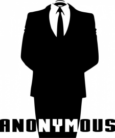 Anonymous Motief 4 sticker