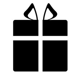 Cadeau Sticker Motief 2