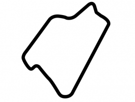 Silverstone International Circuit Sticker