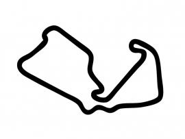 Silverstone England Circuit Sticker