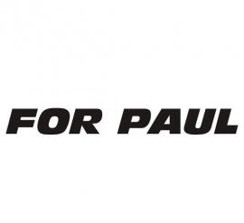 For Paul Walker 1 Sticker
