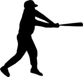 Honkbal Sticker Motief 3