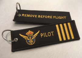 Piloot Sleutelhanger Motief 2