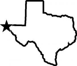 Texas State Motief 1 sticker