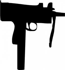Ingram MAC11 sticker