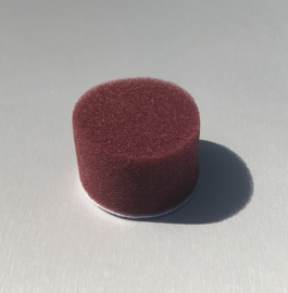 "Foam pad Wijnrood Medium Cutting / Polishing Pad 2""' Ø 50MM"