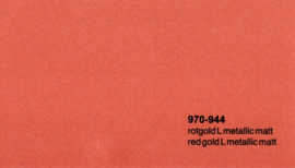 Oracal 970RA  944 Wrap Folie  Mat Rood Goud Metallic