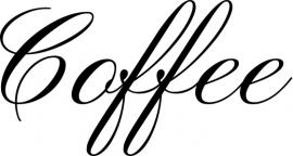 Coffee Motief 2 Sticker