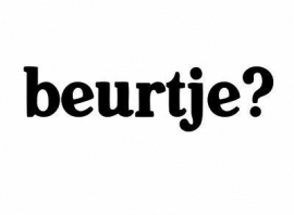 Beurtje ? Sticker