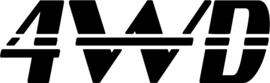 4WD Motief 12 sticker