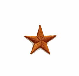 Army Ster Strijk Patch Oranje | 4,5 x 4,5 cm