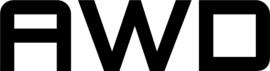 AWD Motief 1 Sticker