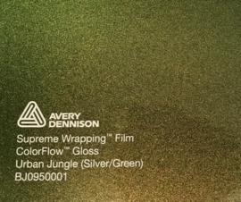 Avery SWF Wrap ColorFlow Glans Urban Jungle ( Silver/Green)