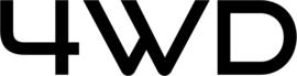 4WD Motief 7 sticker