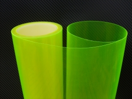 350 X 30 cm Fluorescerend Gele Tint Folie