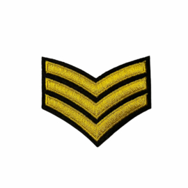 Sergeant Strepen Patch