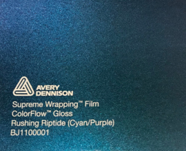 Avery SWF Wrap ColorFlow Glans Rushing Riptide ( Cyan/Purple)