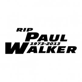 Paul Walker Motief 1 Sticker