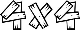 4x4 Motief 4 Sticker