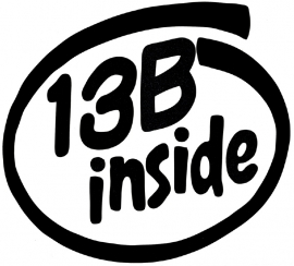 13B Inside Sticker