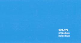 Oracal 970RA 572  Wrap Folie  Glans Politie Blauw