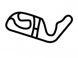 MALLORCA RENNARENA  Circuit Sticker